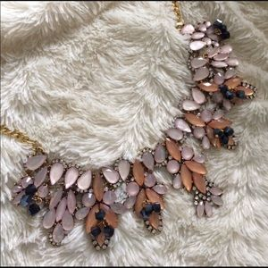 Jewelry - Pink opulence necklace, large stylish necklace